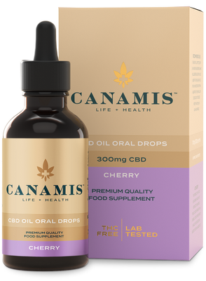 Canamis Curated CBD Recovery - Cherry