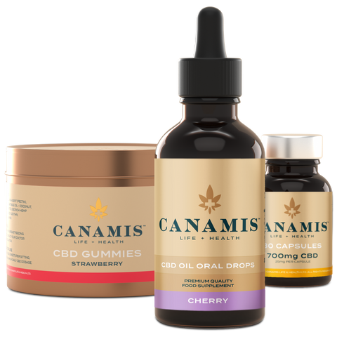 Canamis Curated CBD Balance - Cherry