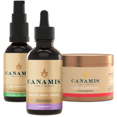 Canamis Curated CBD Relief - Cherry