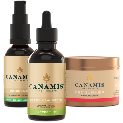 Canamis Curated CBD Relief - Peppermint