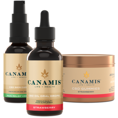 Canamis Curated CBD Relief - Strawberry