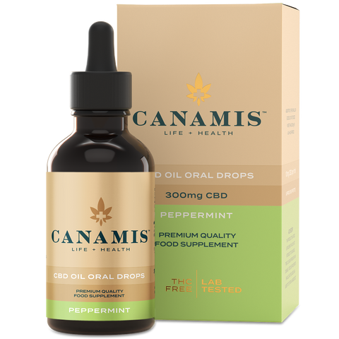Canamis CBD Oil - Peppermint