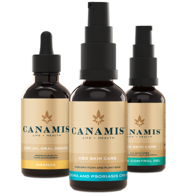 Canamis Curated CBD Rejuvenate - Orange