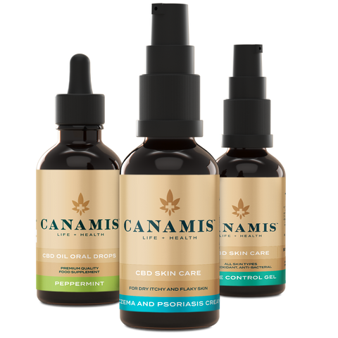 Canamis Curated CBD to Rejuvenate - Peppermint