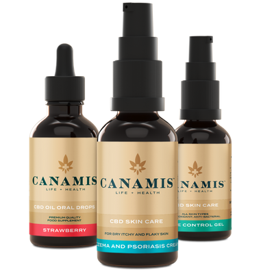 Canamis Curated CBD Rejuvenate - Strawberry