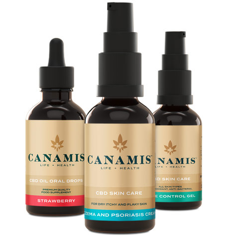 Canamis Curated CBD to Rejuvenate - Strawberry