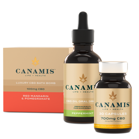 Canamis Curated For Calm – Peppermint