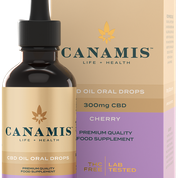 Canamis Curated CBD for PainRelief - Cherry