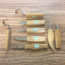 Load image into Gallery viewer, 8 Beavercraft Whittling Knives