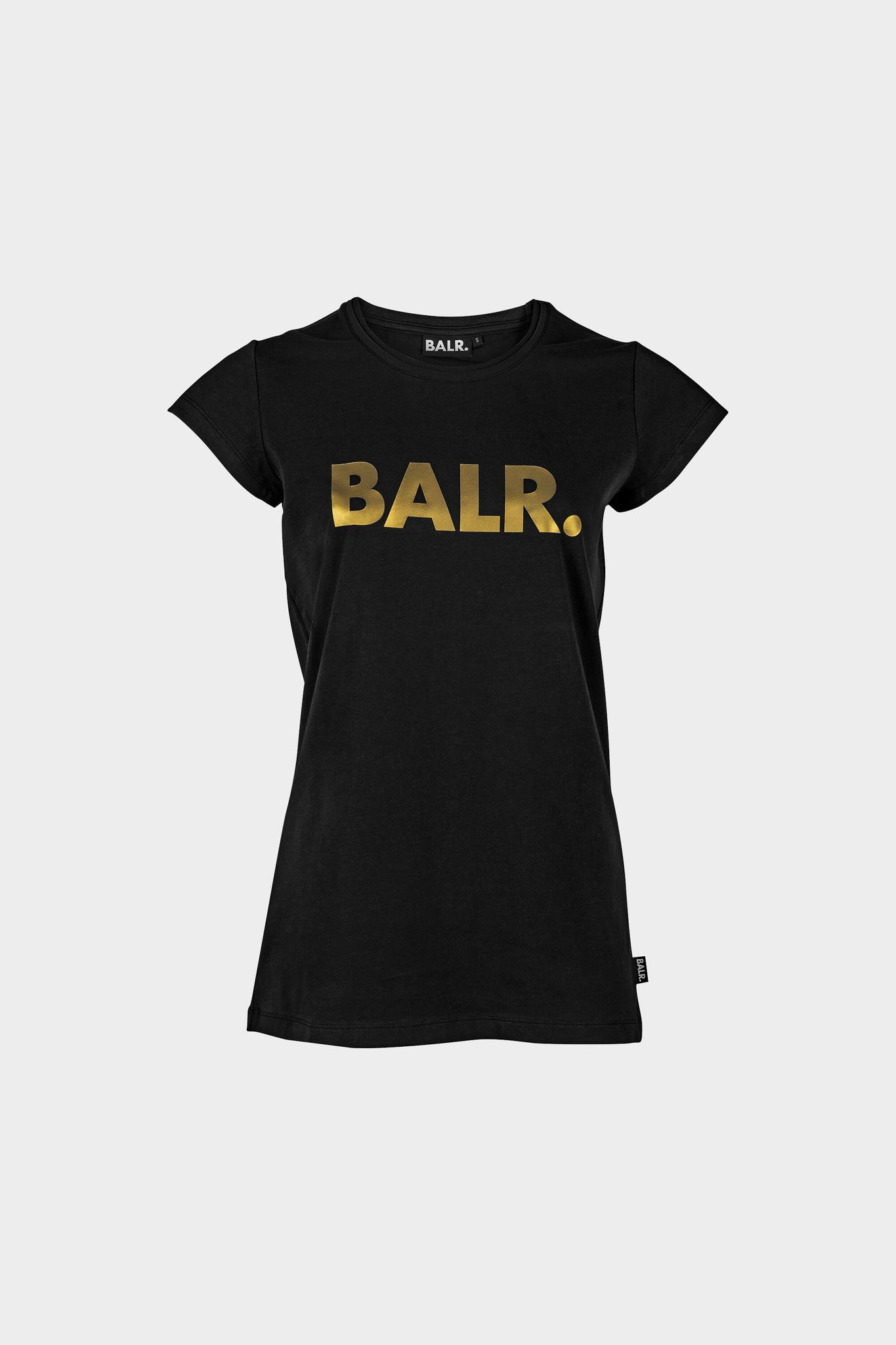 Women Brand T-Shirt Black/Gold