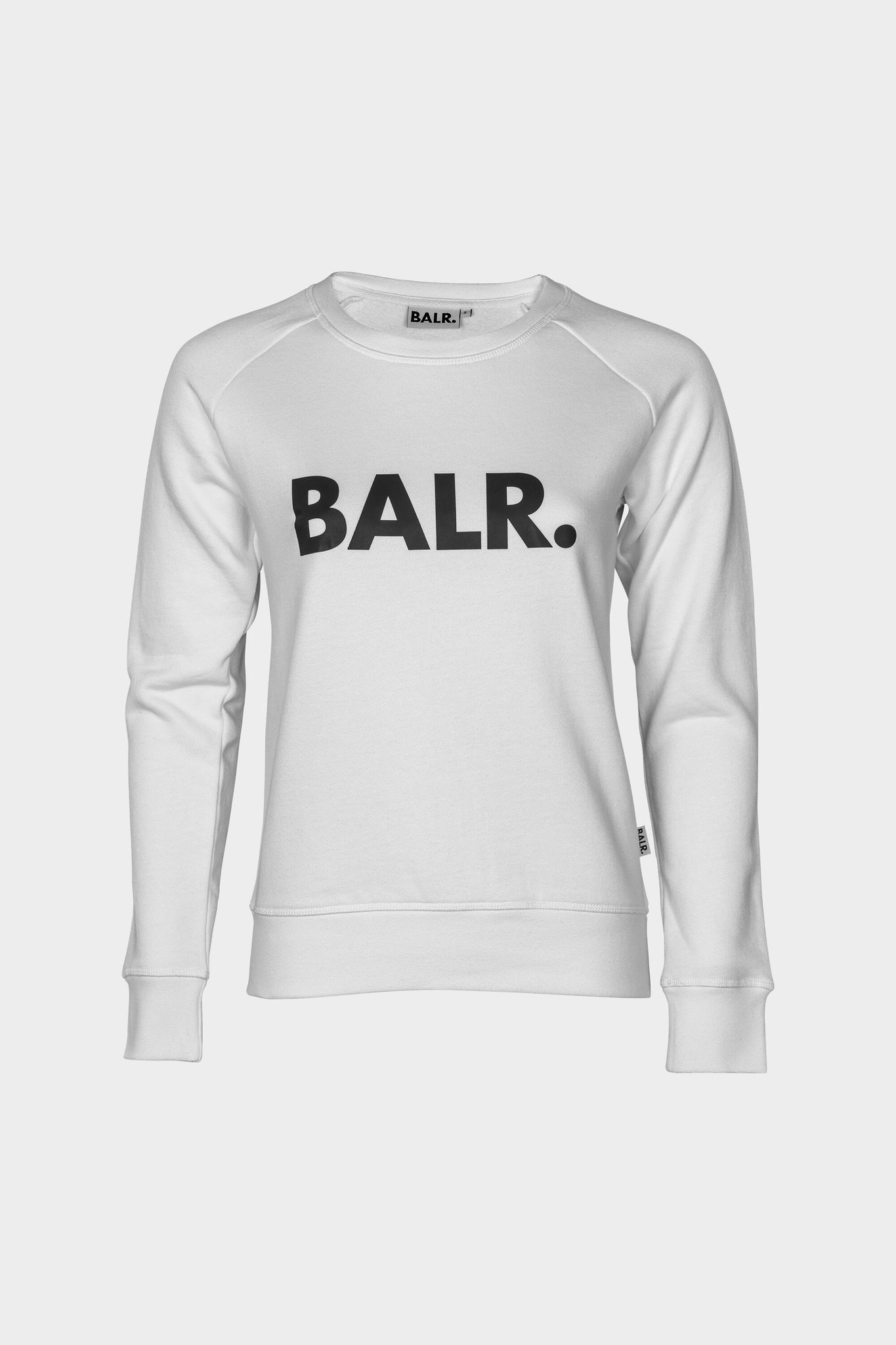 Women Brand Crew Neck Sweater White