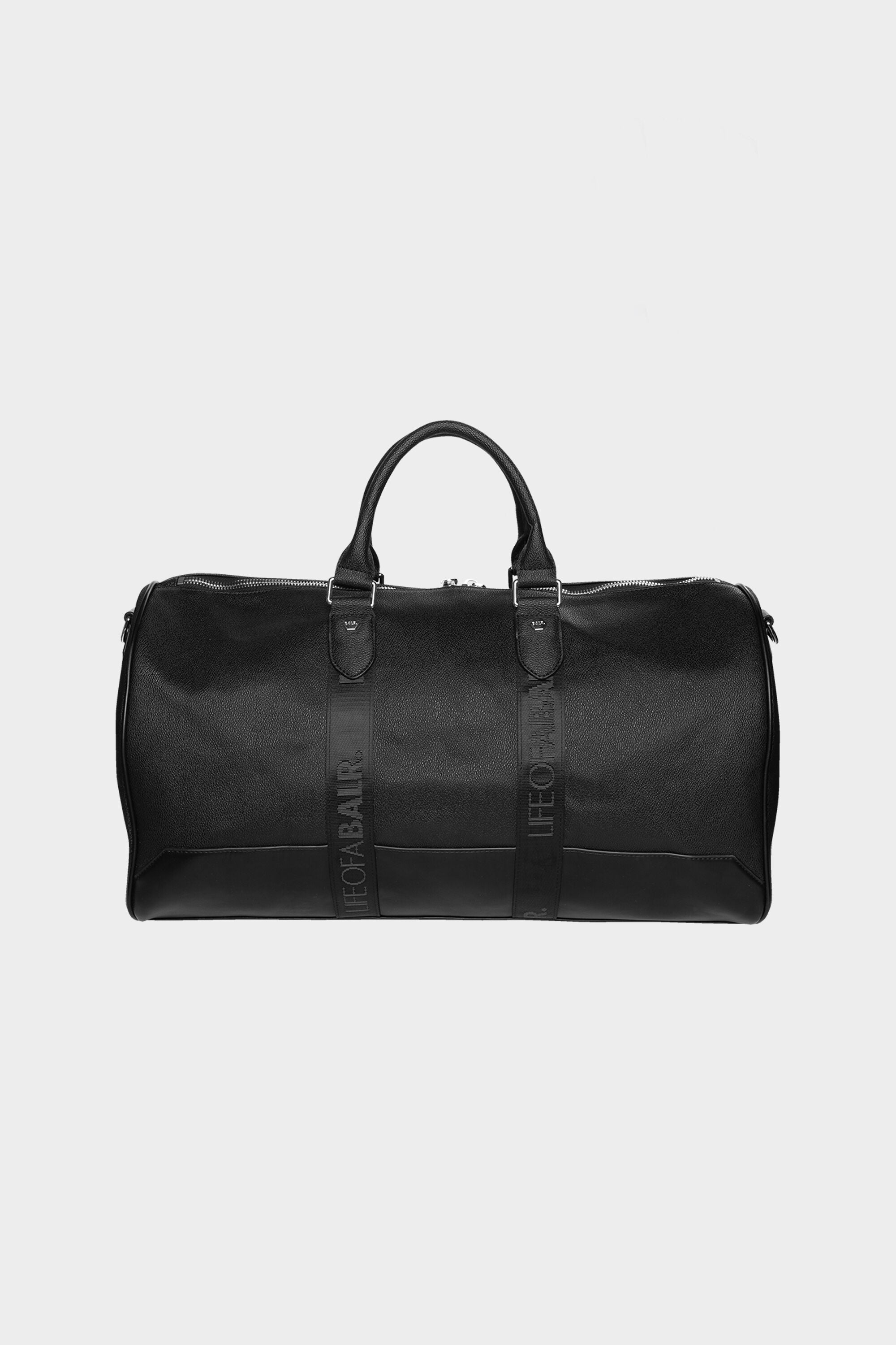 Pu Leather Weekender Jet