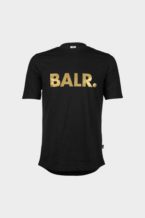 Brand Athletic T-Shirt Men Black/Gold