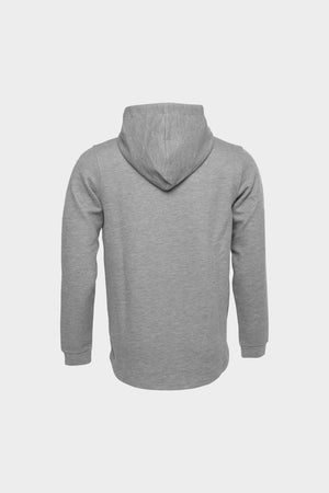 Q-Series Straight Classic Hoodie Men Grey Heather