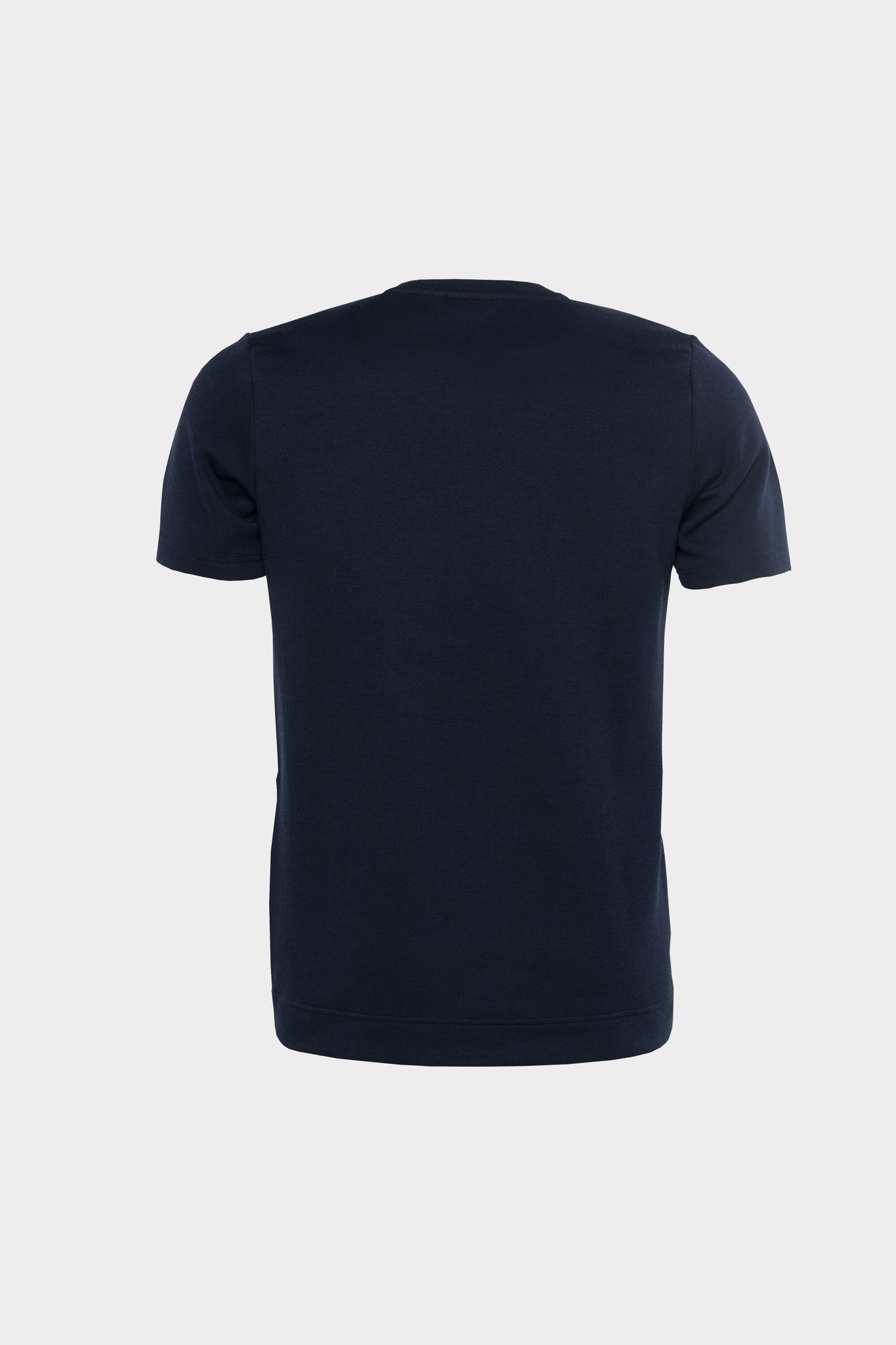 Q-Series Straight T-shirt Men Navy Blue