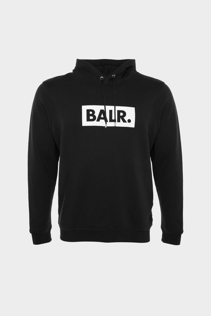 Club Straight Hoodie Men Black