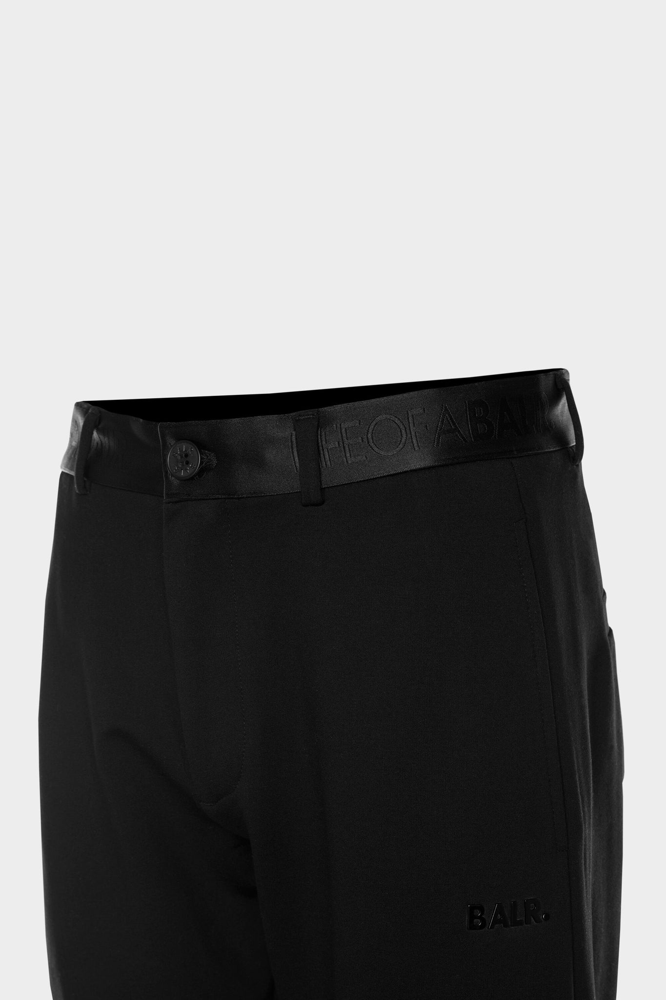 BALR. Slim Chino Men Black