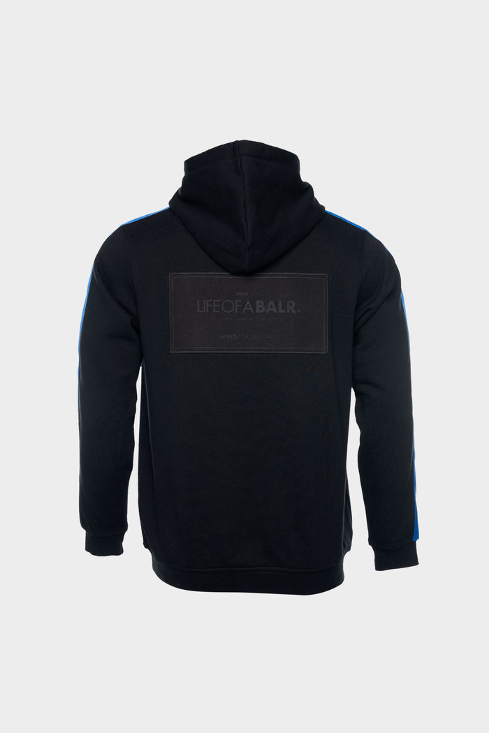 LOAB Contrast Straight Hoodie Men Black