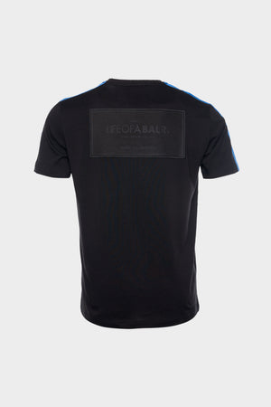 LOAB Contrast Straight T-Shirt Men Black