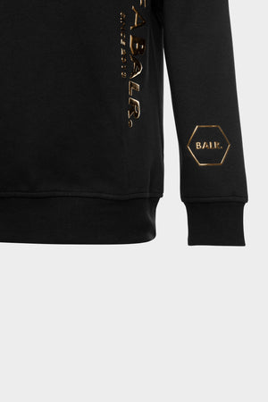 CC BALR. Straight Crew Neck Black/Gold
