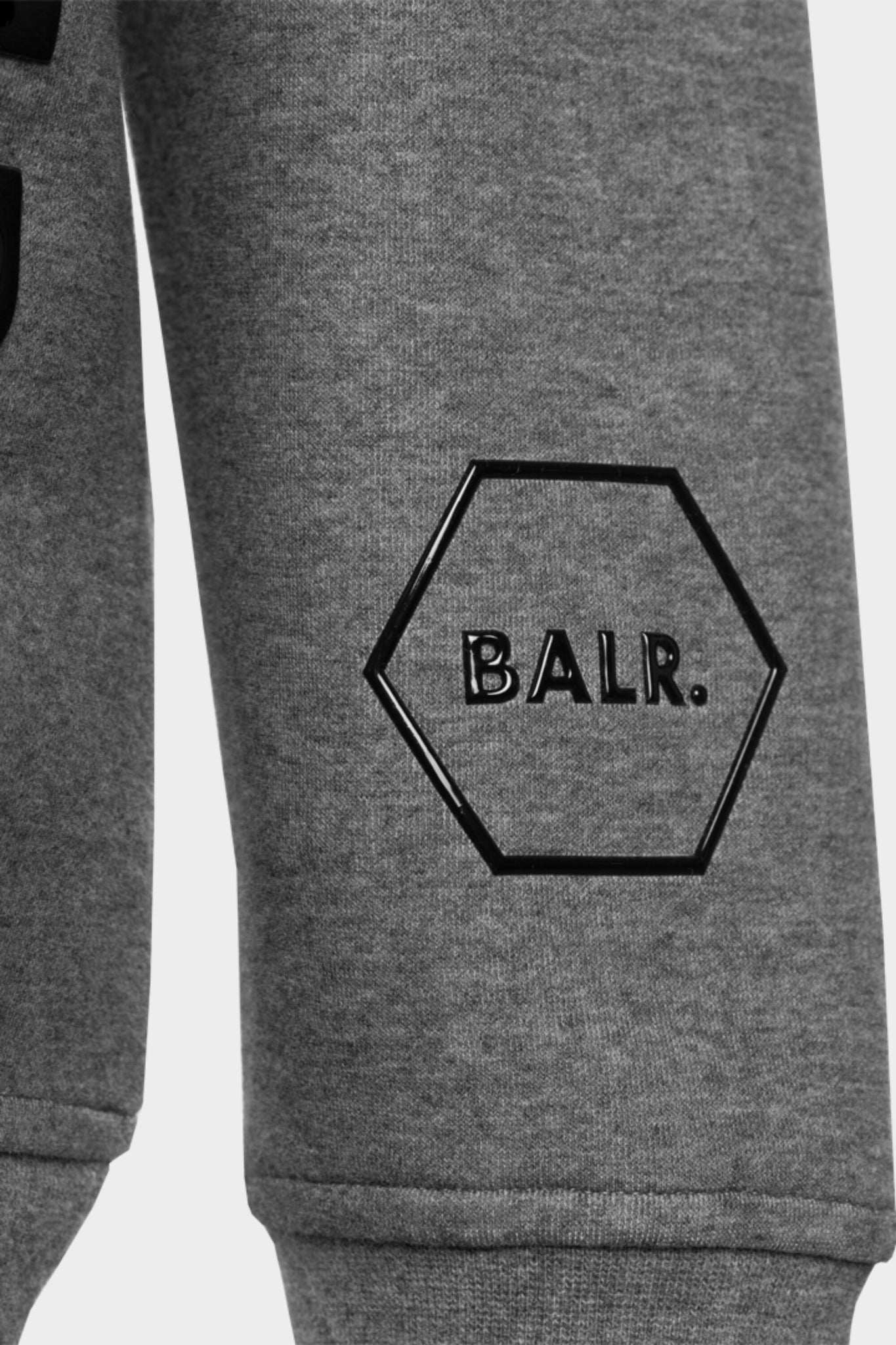 CC BALR. Straight Crew Neck Dk Grey Heather