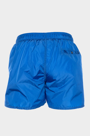 Silver Club Swim Shorts Men Cobalt