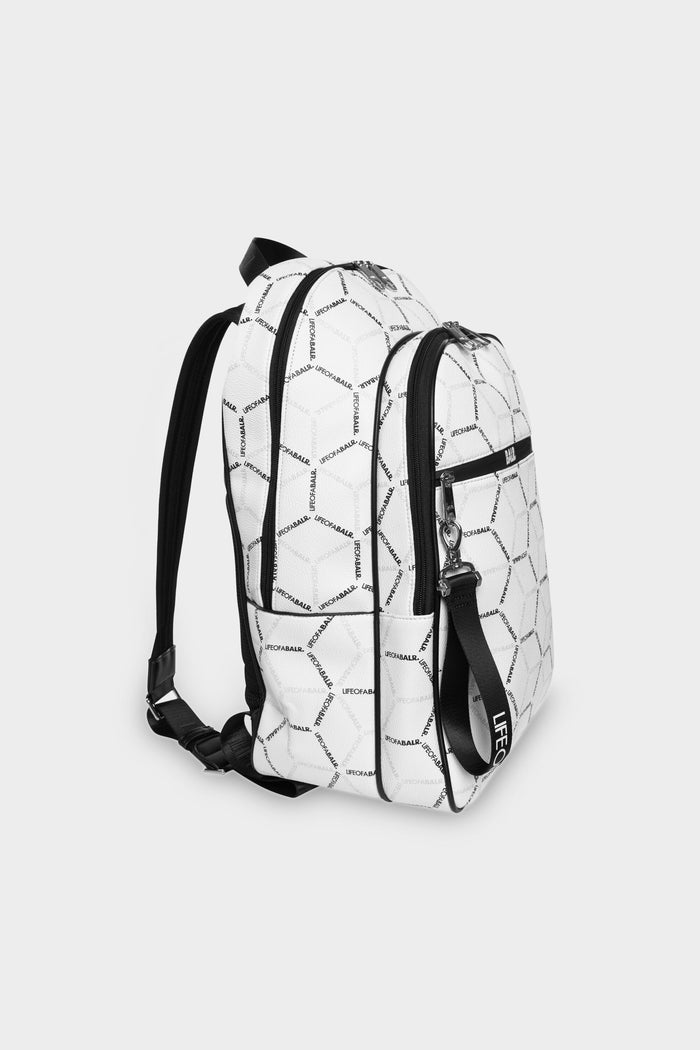 LOAB AOP Backpack White