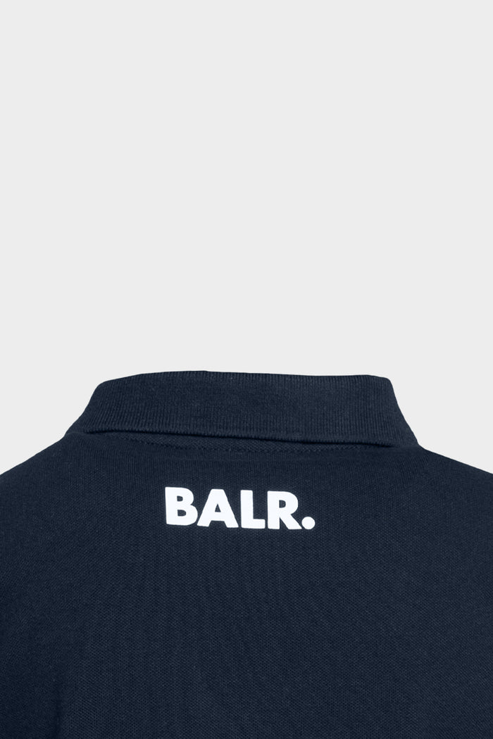Brand Logo Polo Kids Navy Blue