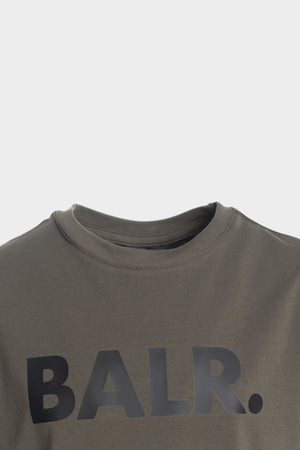 Brand Logo T-Shirt Kids Army Green