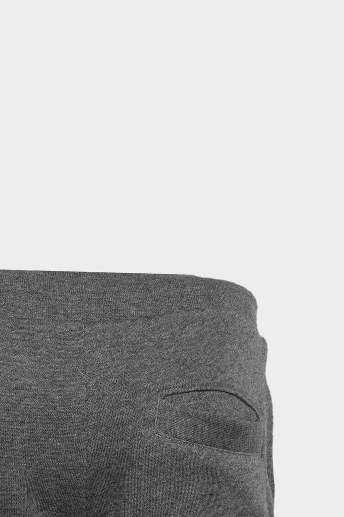 Brand Logo Sweat Short Kids Grey Heather
