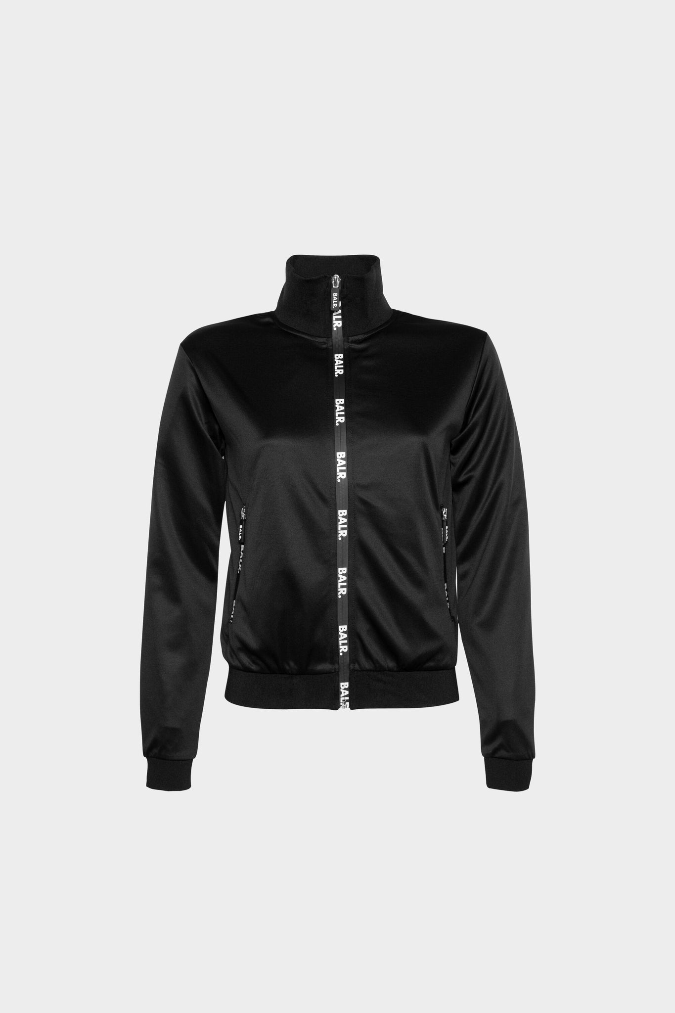 Repeat Zip Track Jacket Women Black