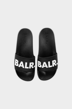 BALR. Slider Unisex Black/White