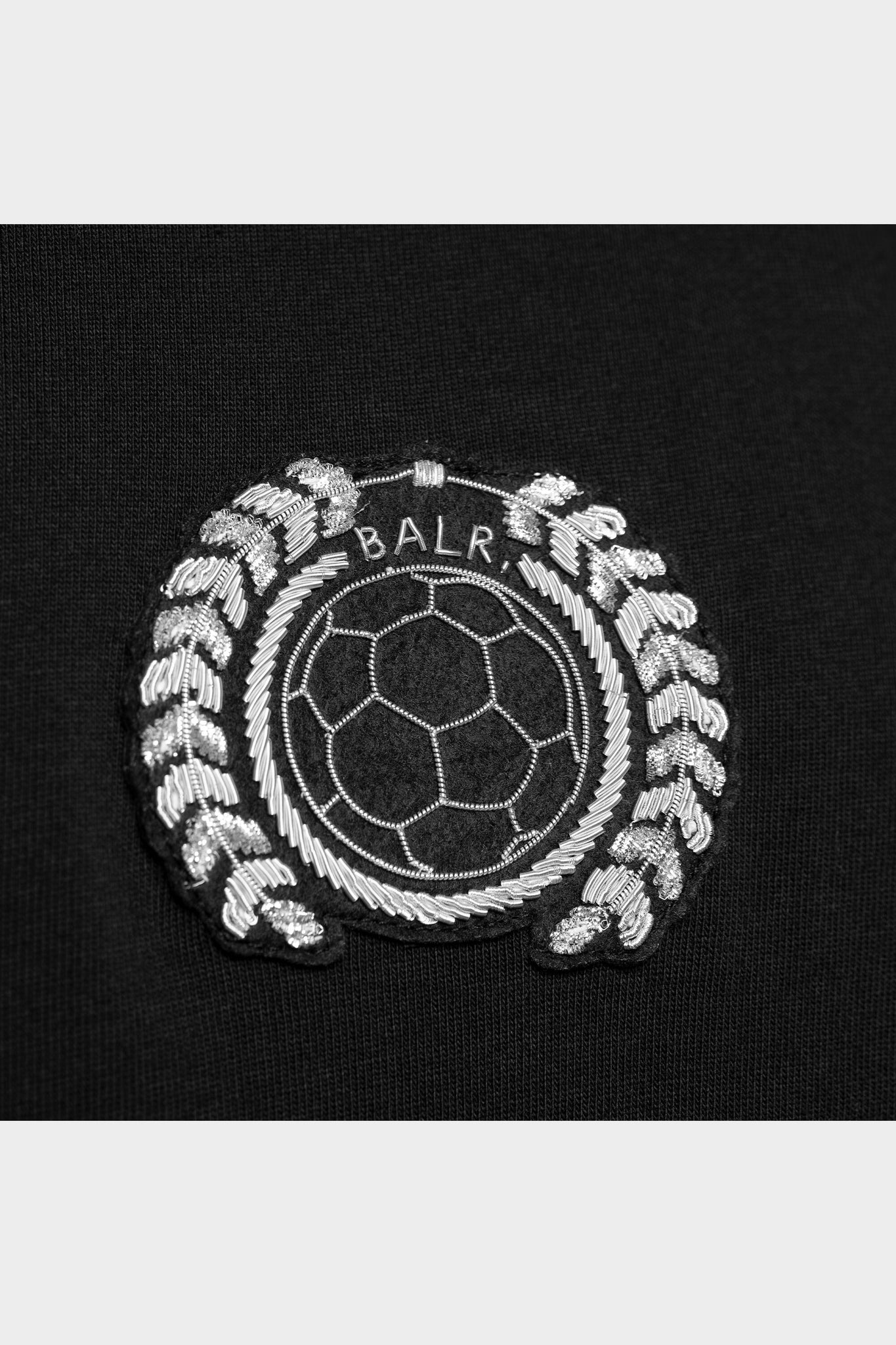LOAB Badge Straight T-Shirt Black