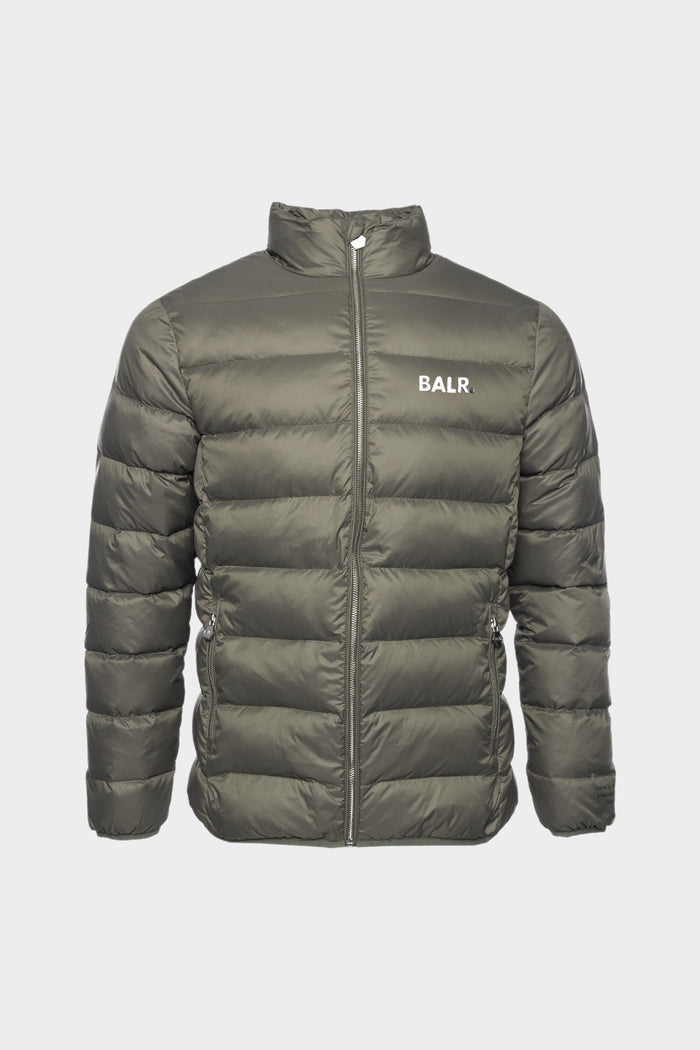 BALR. Army Slim Down Jacket Men Army Green