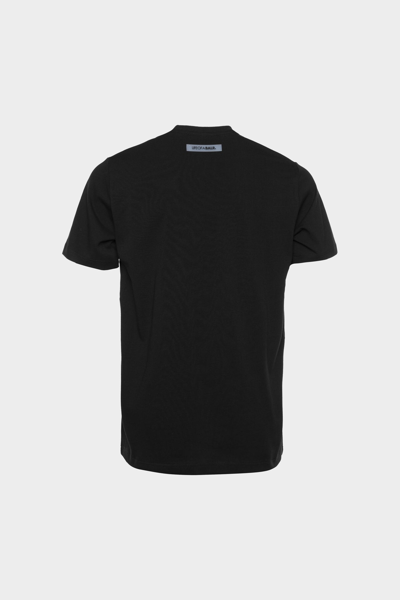 BALR. Waterfall Straight T-Shirt Black