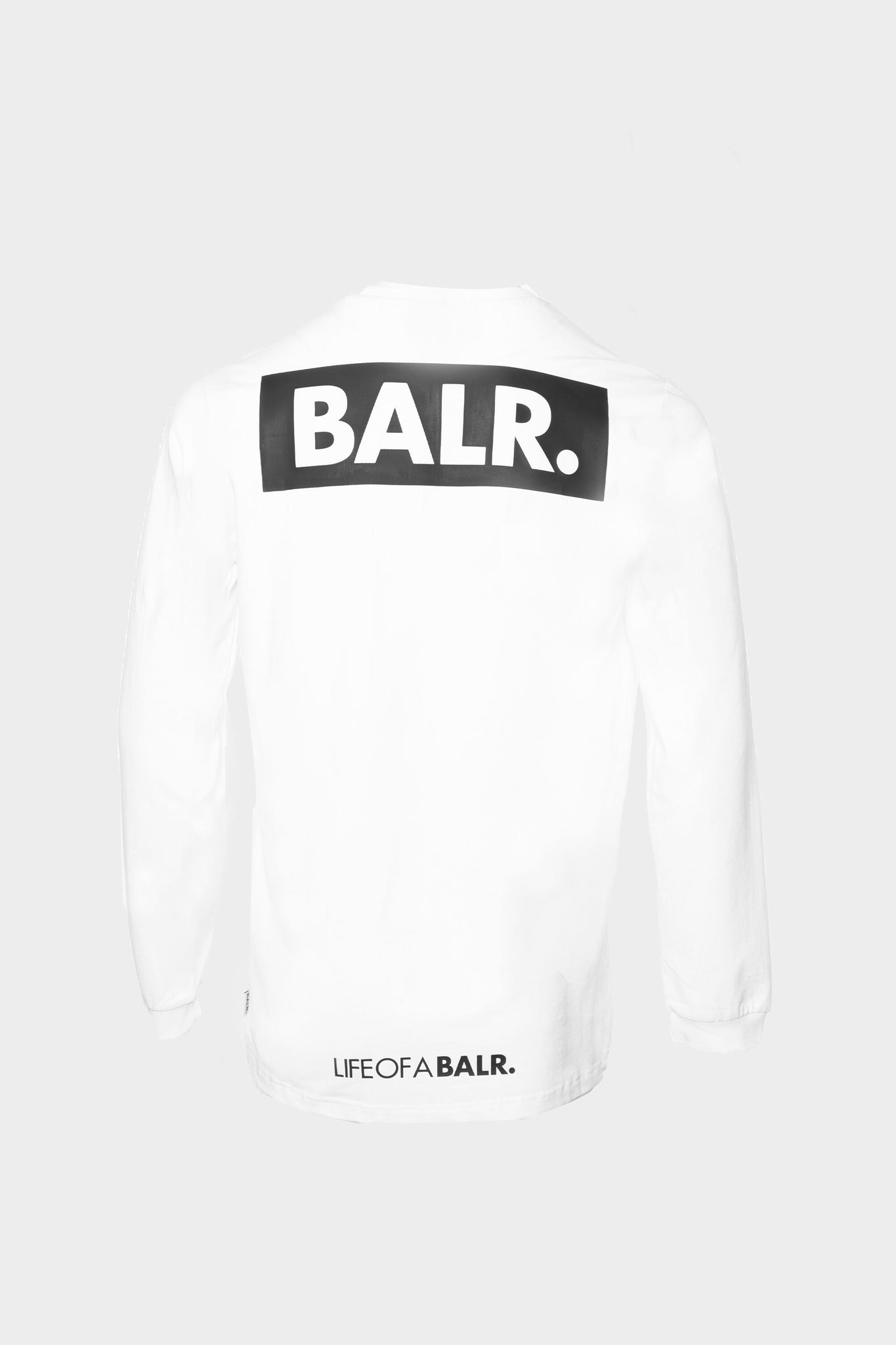 BALR. Cube Straight T-Shirt l/s White