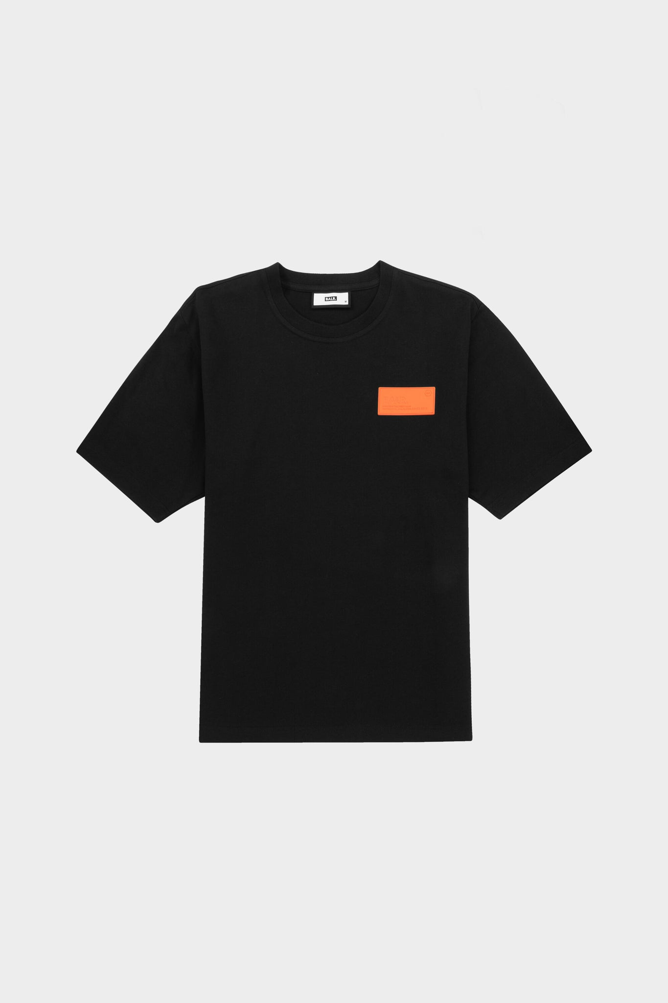 BALR. Badge Loose Fit T-Shirt Black