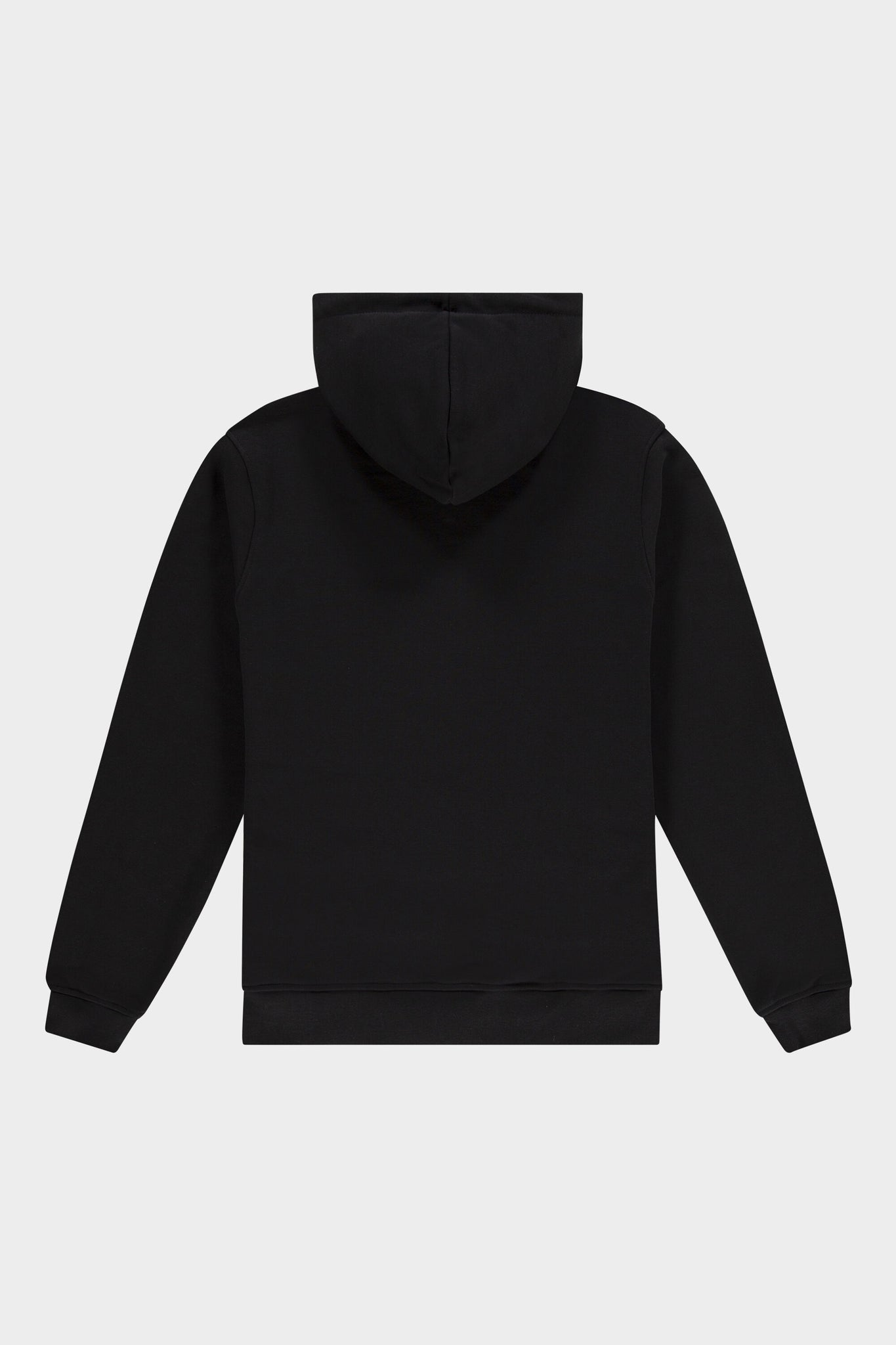 BALR. Straight Hoodie Club Logo Jet Black