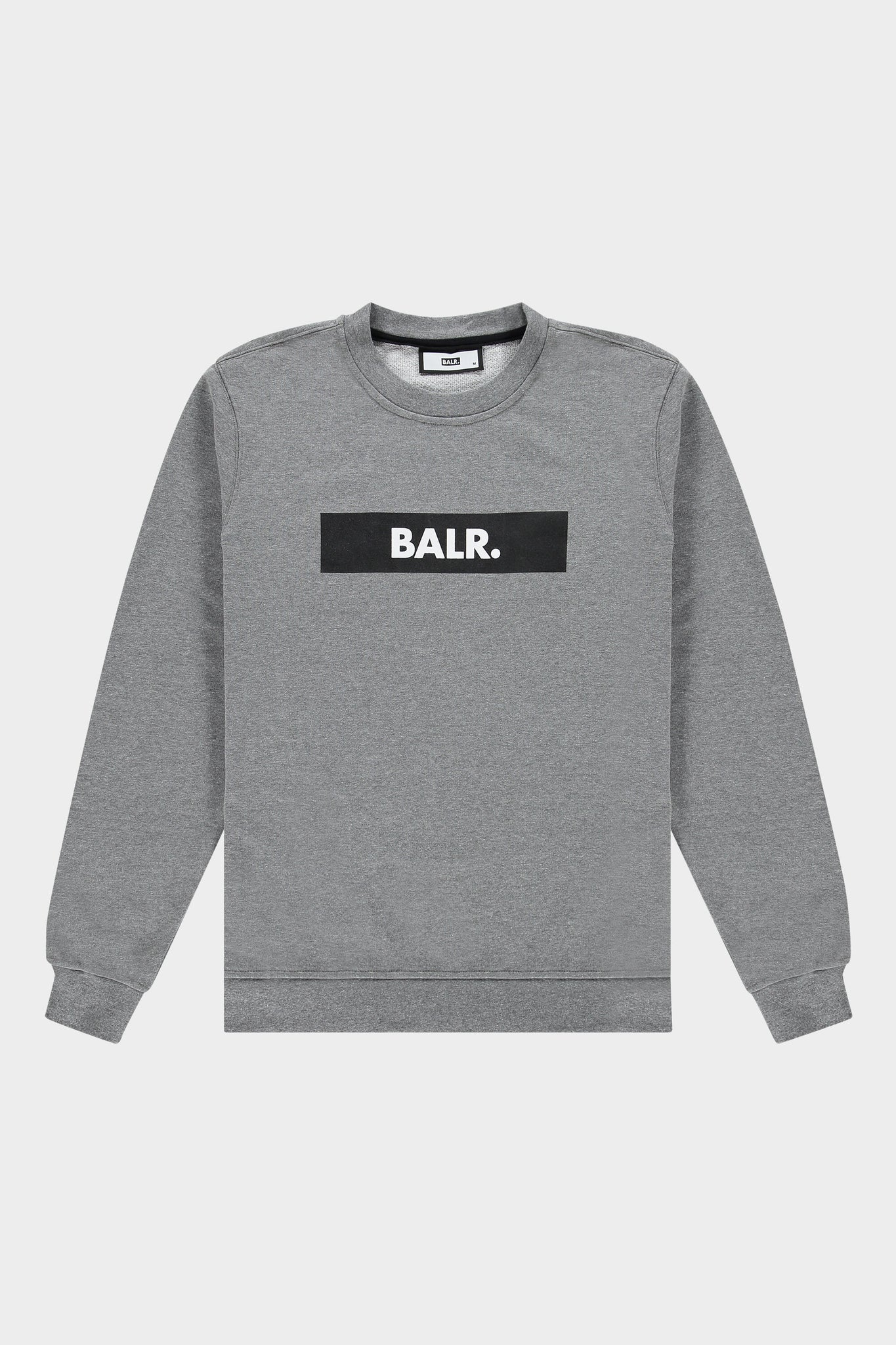 BALR. Straight Crewneck Club Dark Grey Heather