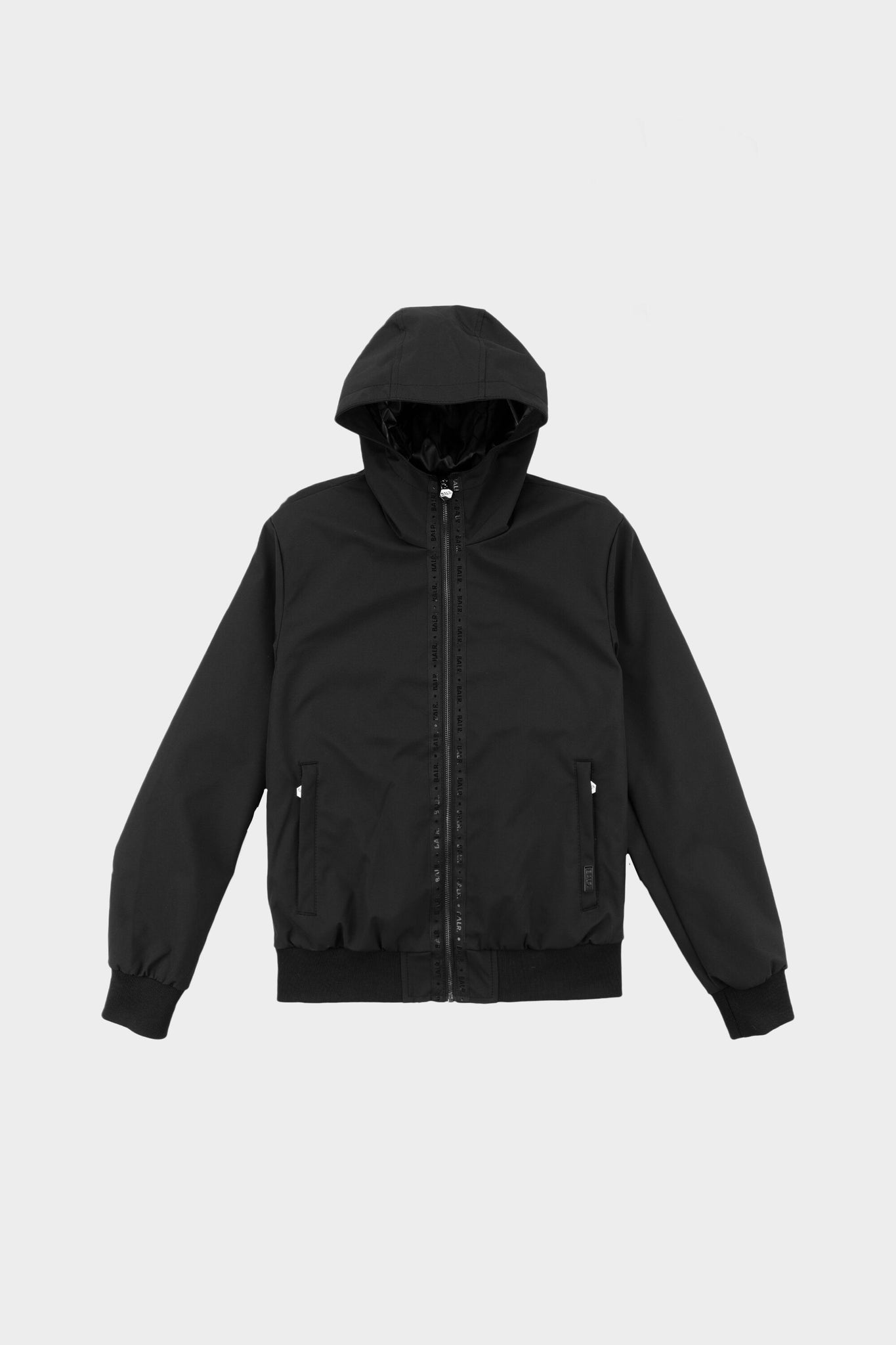 Webbing Tape Softshell Classic Jacket Black