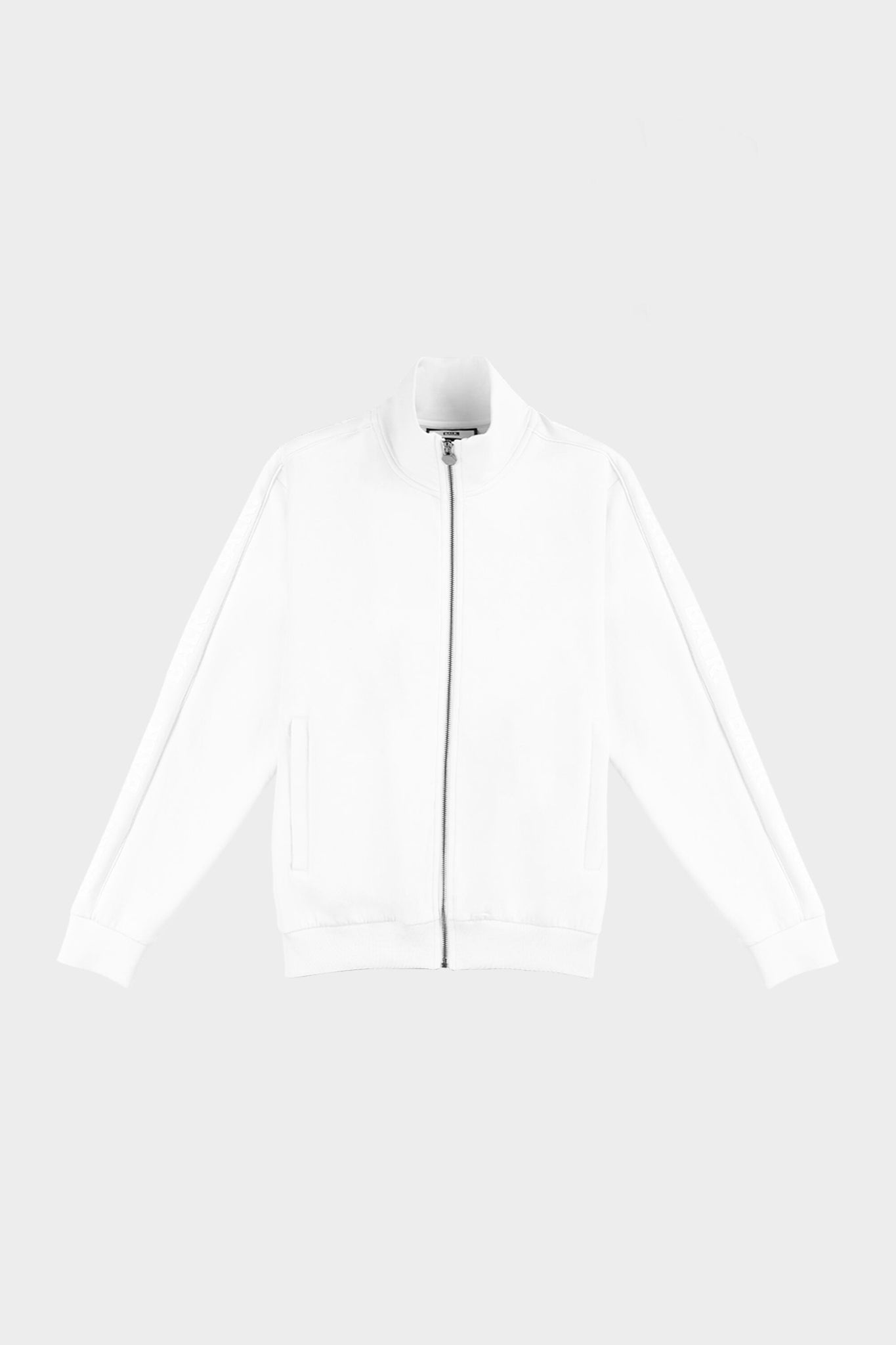 Repeat Tape Straight Track Jacket White