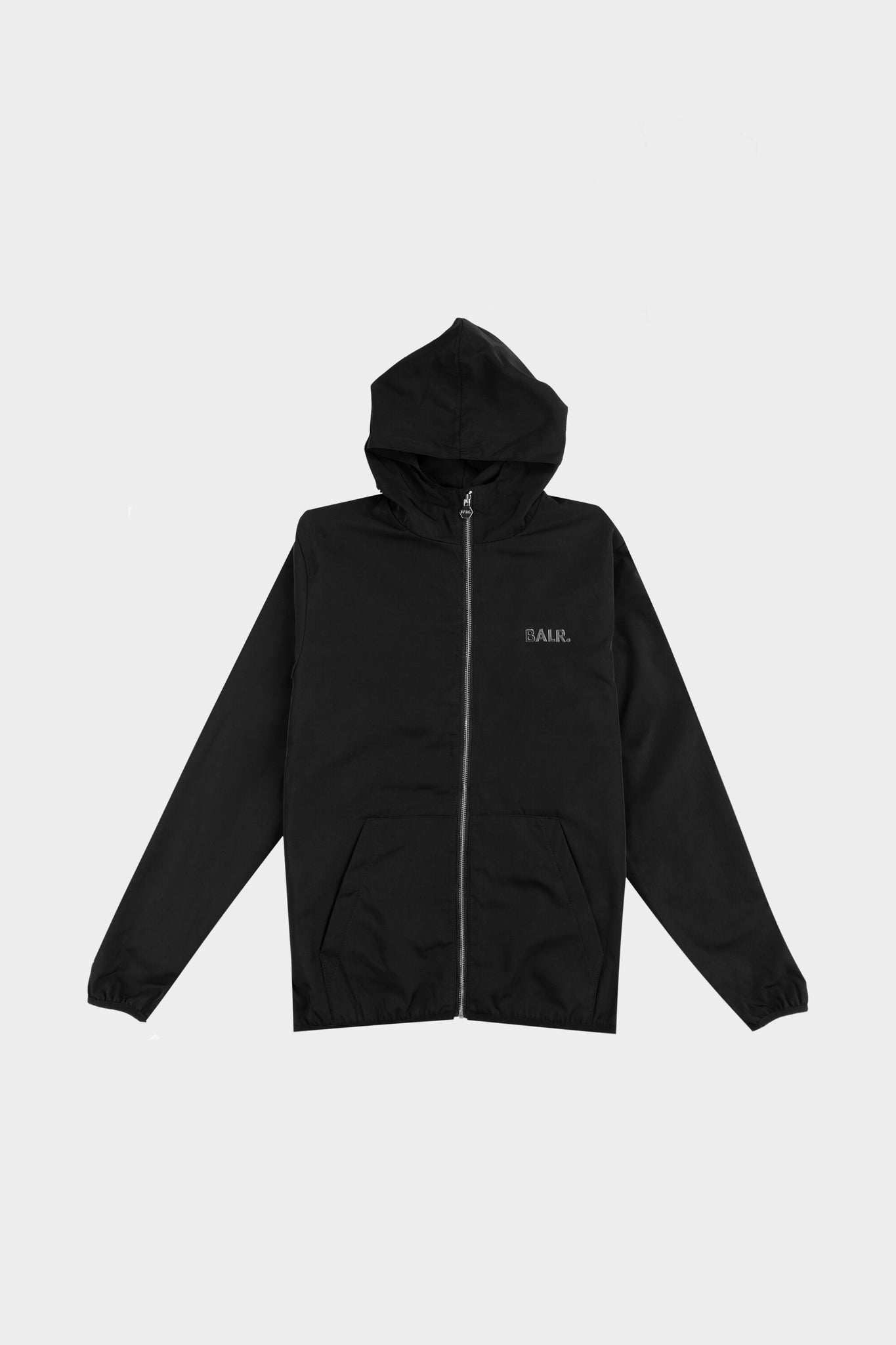 Classic Hooded Jacket Black