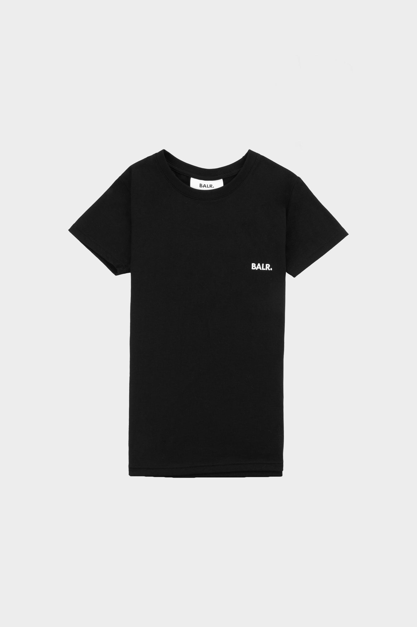 Women Slim Fit Tee Jet Black