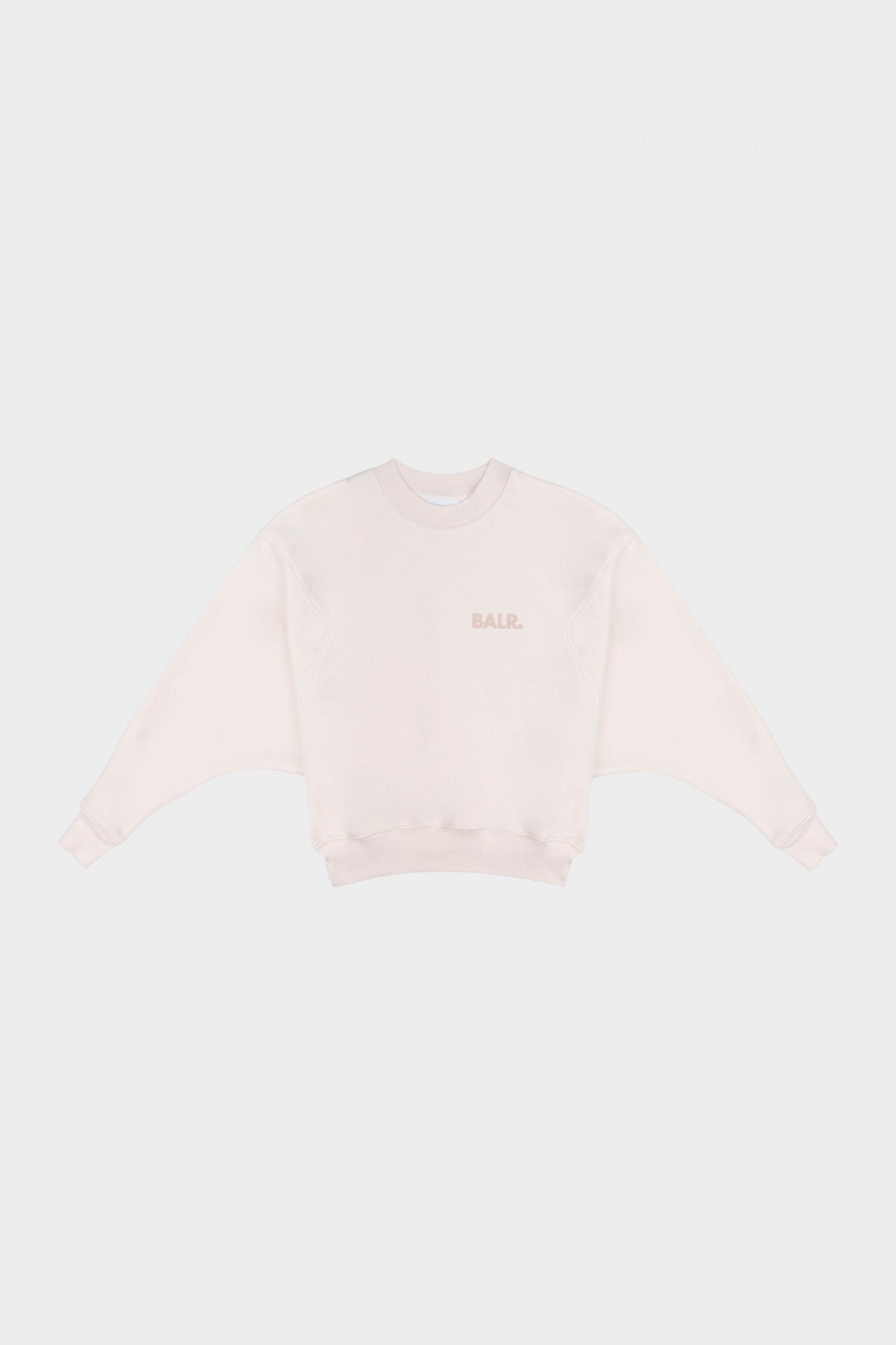Bat Sleeve Crewneck Jet Stream