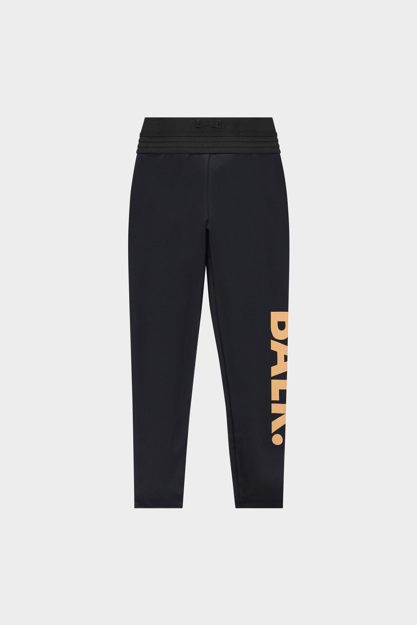 BALR. High Waisted Legging Brand Women Jet Black