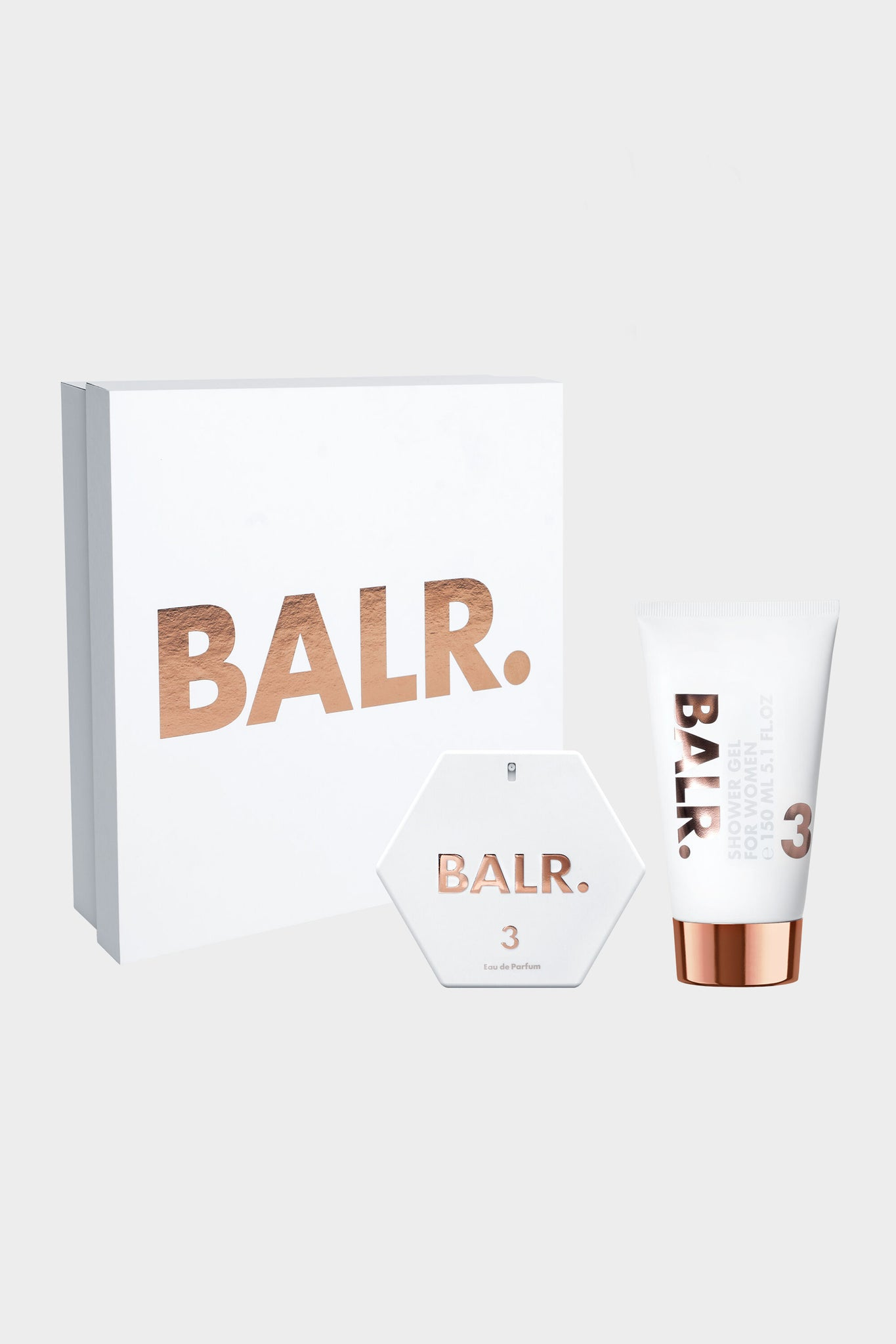 BALR. 3 Women Giftbox Edp Spray + Shower Gel
