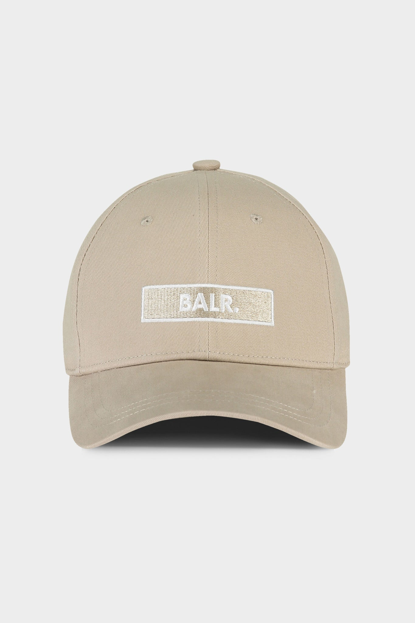 BALR. Club Embroidery Cap White Pepper