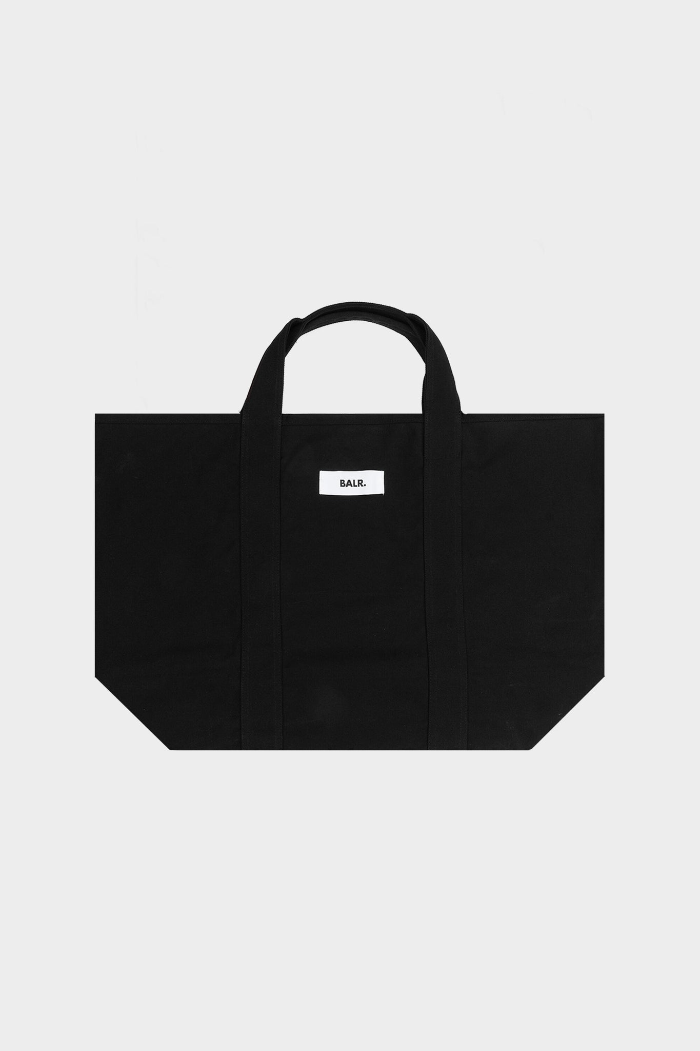 Clean Label Tote Bag Large Jet Black