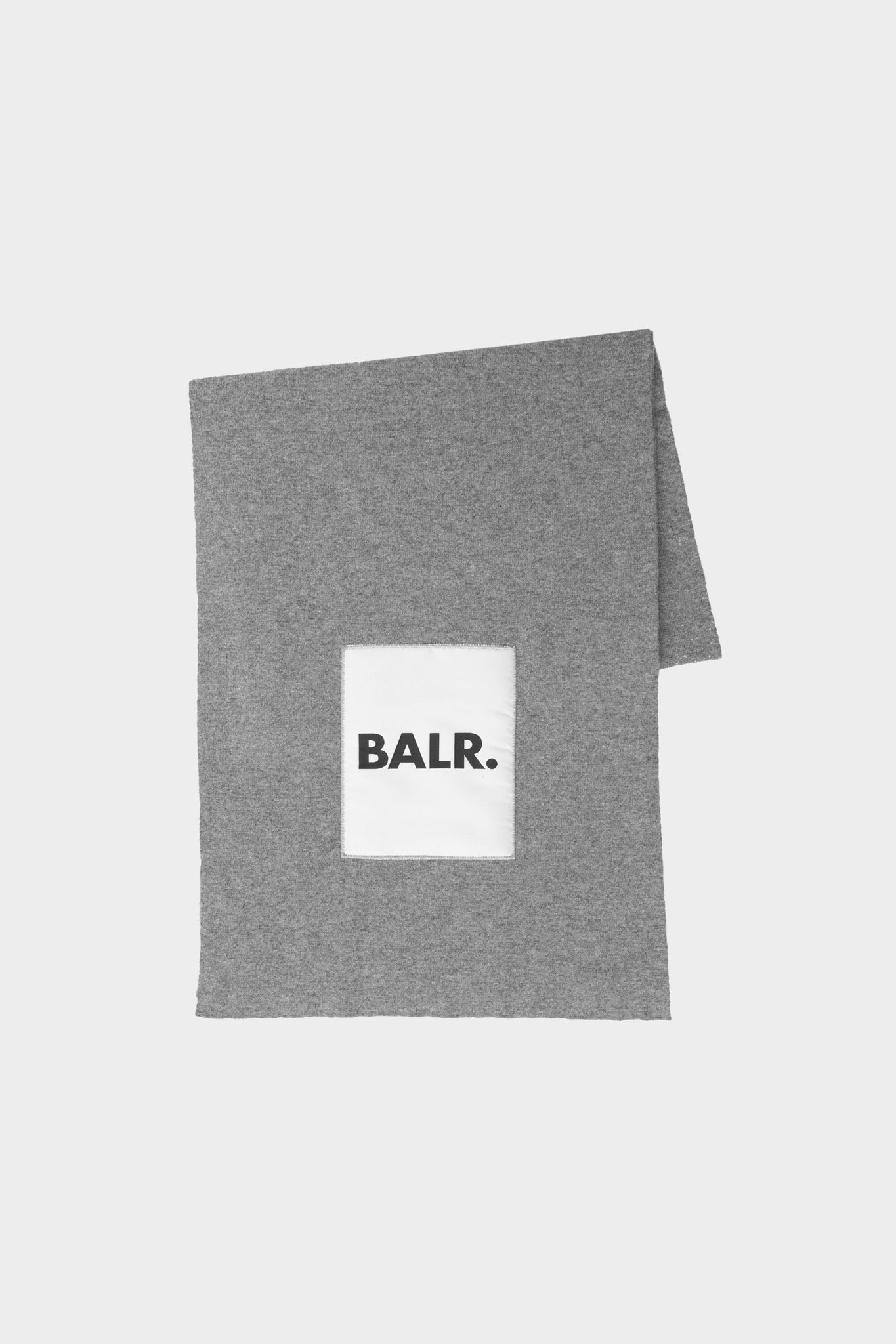 BALR. Big Comfy Scarf Grey Heather