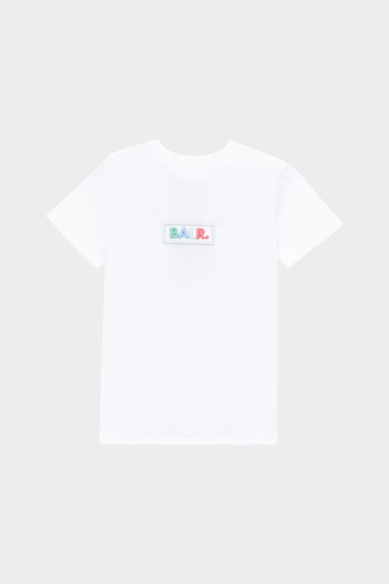Kids Club Embro Colours Box T-Shirt Bright White